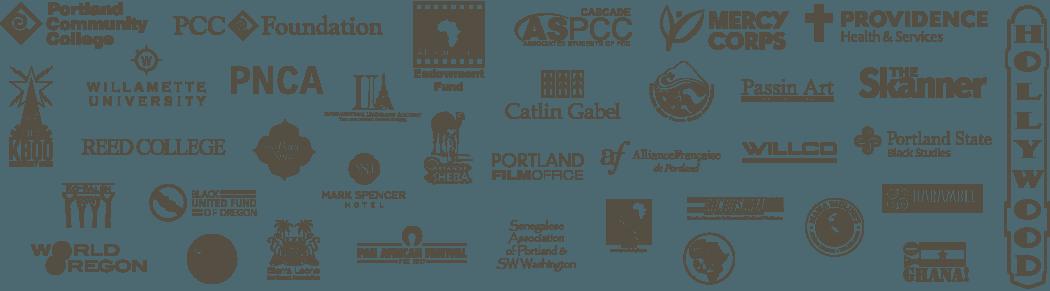 Sponsor logos in a grid
